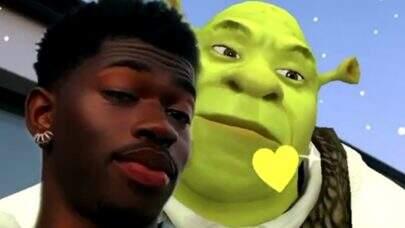 Lil Nas X namorando Shrek? Cantor posta vídeo romântico ao lado do personagem animado e diverte web