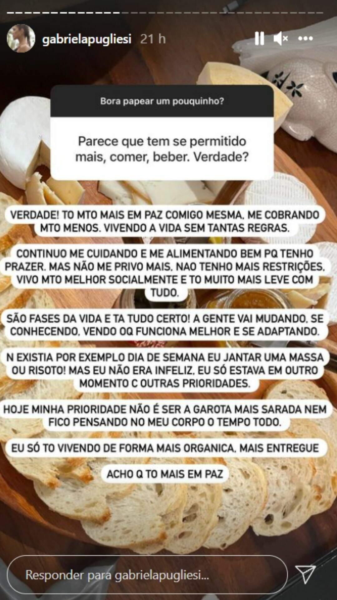 Story Gabriela Pugliesi