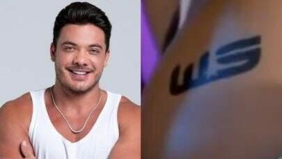 """Influenciador tatua bumbum em homenagem a Wesley Safadão: """"Vê se eu dou conta"""""""